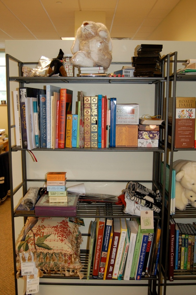 Samples on the Shelf