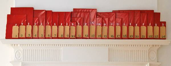 Make Your Own Bookish Advent Calendar  Bas Bleu Bluestocking Salon