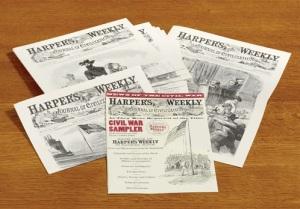 Harper's Weekly Civil War Sampler