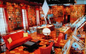 "Jay Walker's three-story ""library of the imagination"""