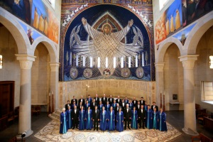 Gloriæ Dei Cantores in the Church of the Transfiguration (Photo credit Steve J. Sherman)