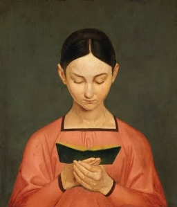 Reader painting