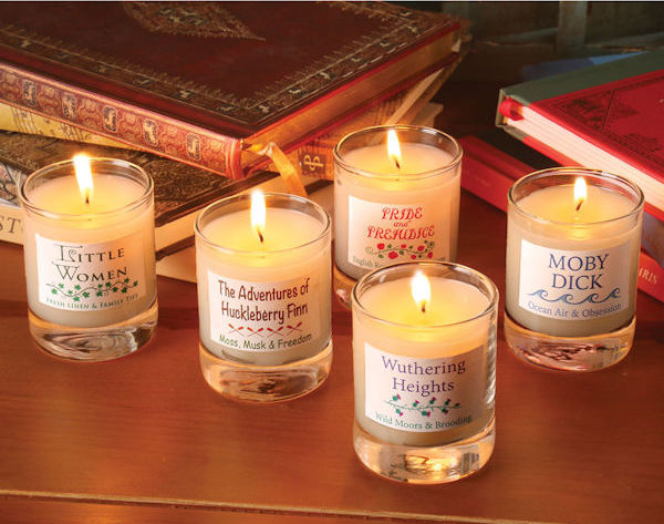 Literary Classics Votive Set from Bas Bleu