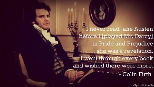Colin Firth on Jane Austen
